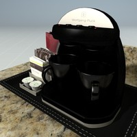 3d hotel coffee maker