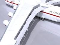 an225 plane 3d max