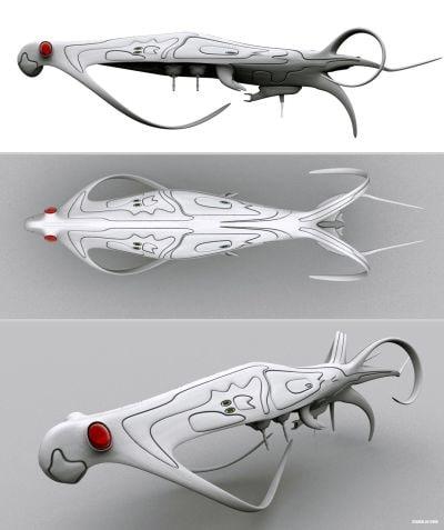 3d space war model