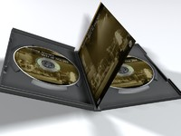 DVD Double Disk Jewel Case with Disks