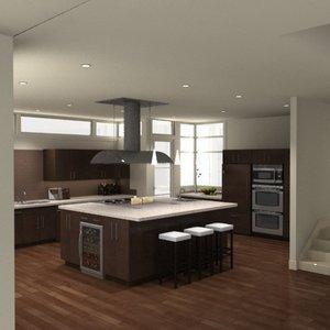3ds max complete kitchen appliances