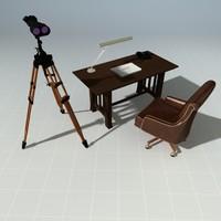 3d craftsman desk