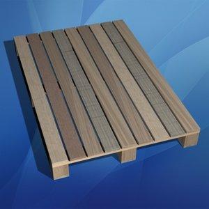 3ds wood pallet