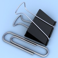 Paper and Binder Clips