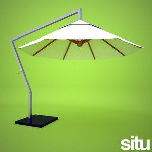 3d model contemporary parasol