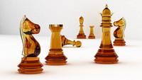 maya chess set