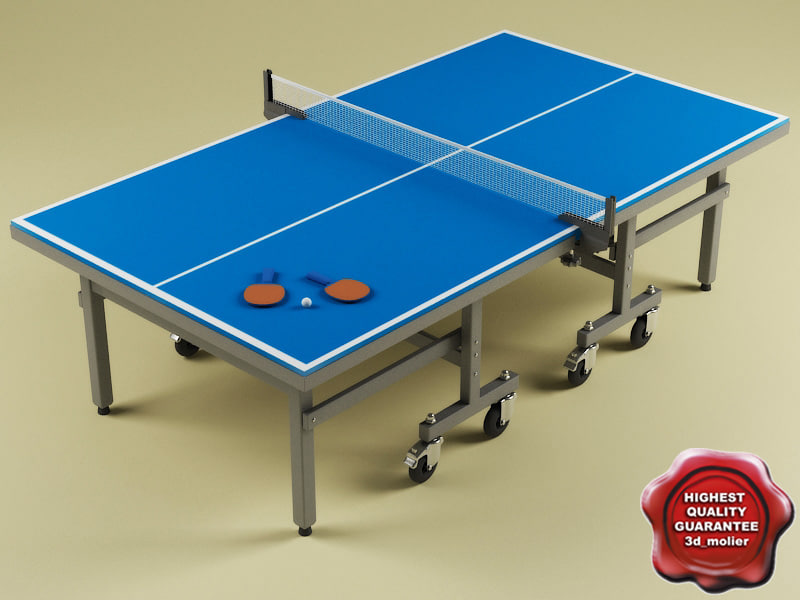 ping-pong table c4d