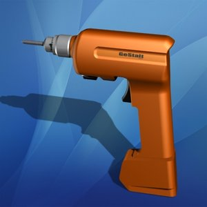 rechargeable drill 3d max