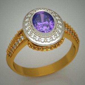 gold jewellery designer 3d obj