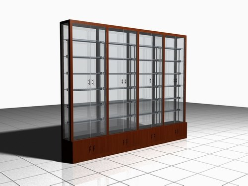 maya showcase display glass
