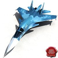 Su 34 ( Fullback )