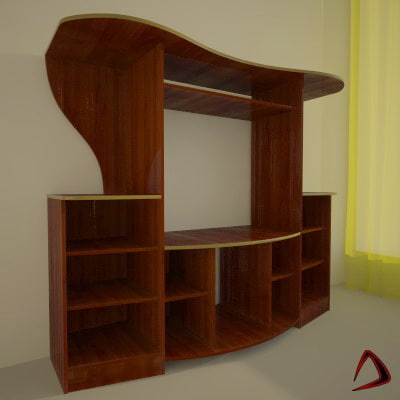 3d table tv model