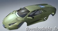reventon wrl 3d model