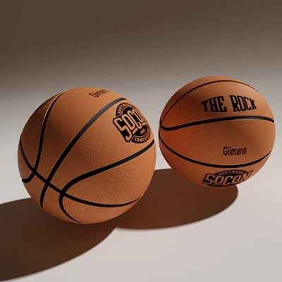 basketball basket ball 3d 3ds