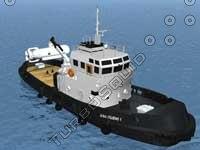 boat fish fishingboat 3d max