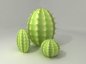 3ds max cactus