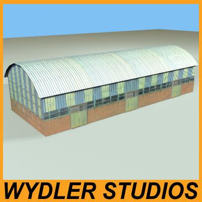 3d model barn