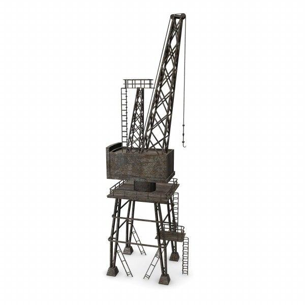 3d crane land