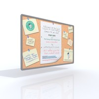 3ds max notice board