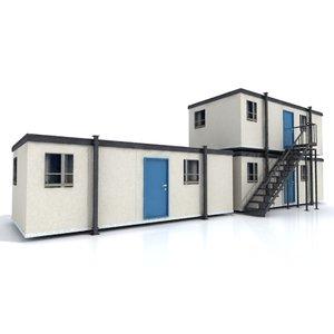 3d model portacabin cabin