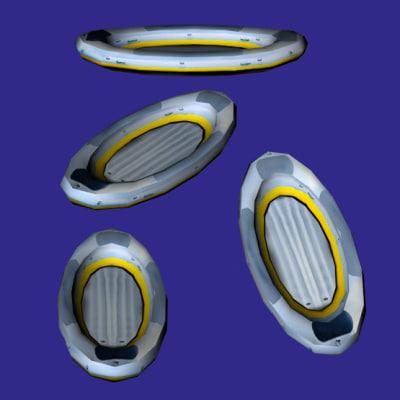 3ds rubber dinghy