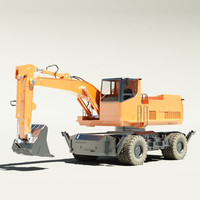 Wheeled digger V6