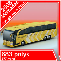 2008 Mercedes Travego Safety Coach