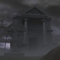 3D Cemetery 3DS Model
