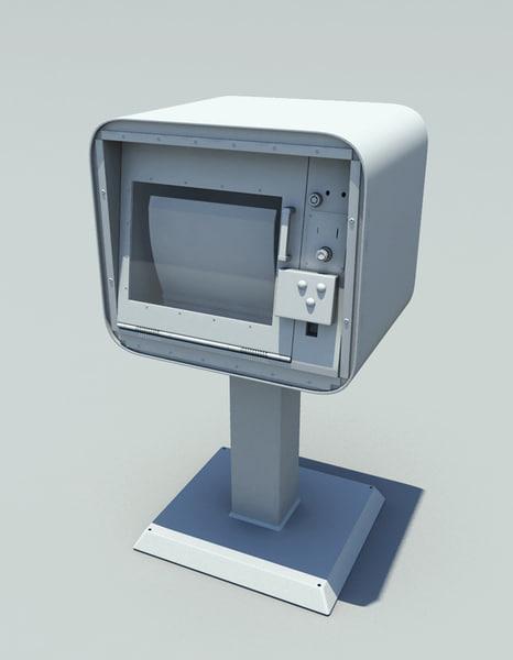 3d news stand