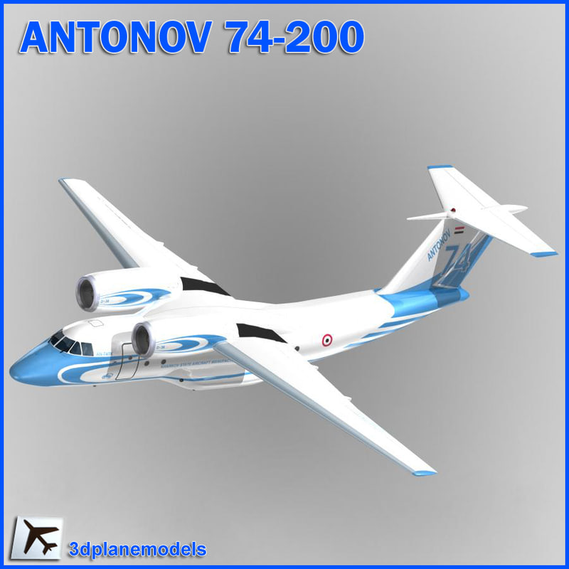 antonov transport egypte air force 3d 3ds