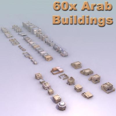 3d building arab model
