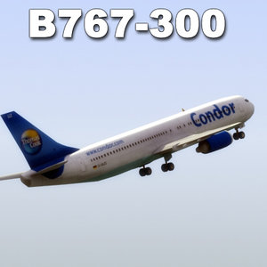 3ds boing 767-300