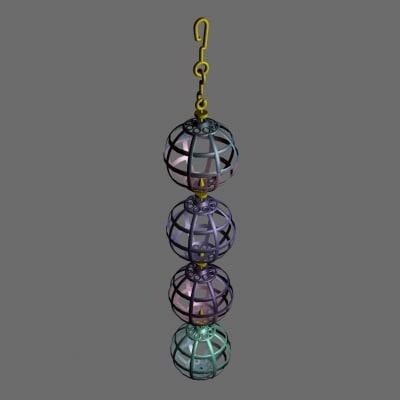 balls bird cage 3d max