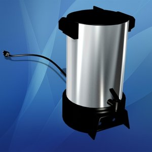 3ds electric coffee percolator