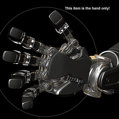 3d hand rs2009 model