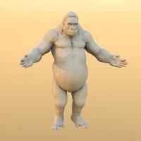 Gorilla_Obj_Textures.zip
