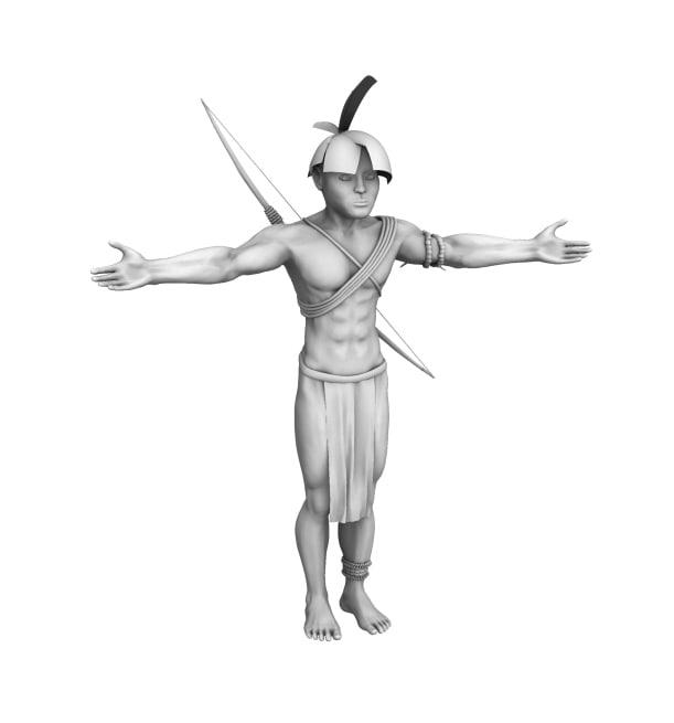 native character 3d max