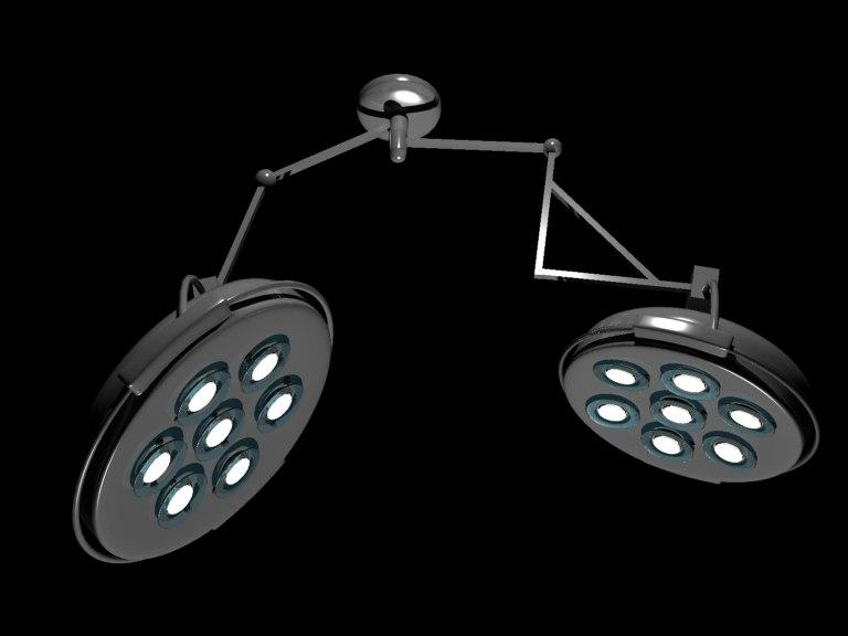 lighting lab 3d model