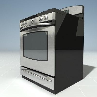 3d ge profile oven model