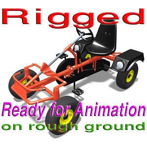 x quad cycle rigged