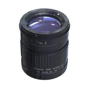 3d lens sigma af 18-125mm model
