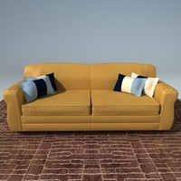 maya leather couch