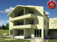 3d max villa v7