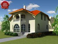 3d villa v8