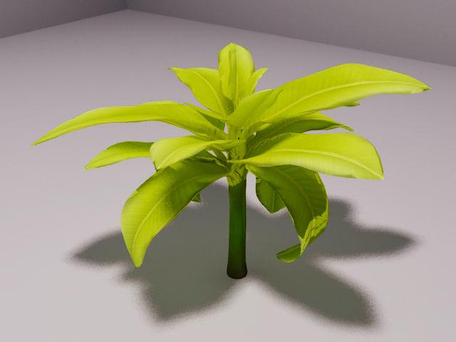 banana tree 3ds
