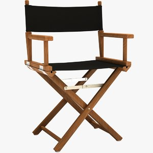 director chair 3d xsi