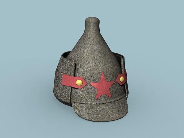 budenovka helmet max