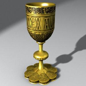 free chalice 3d model