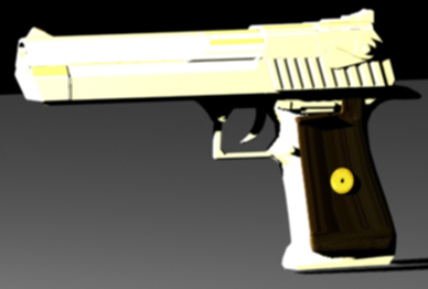 deagle desert eagle 3d model