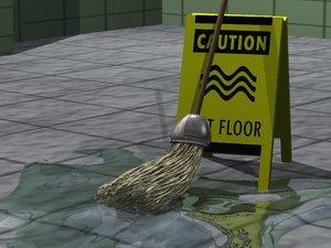 3d model of mop